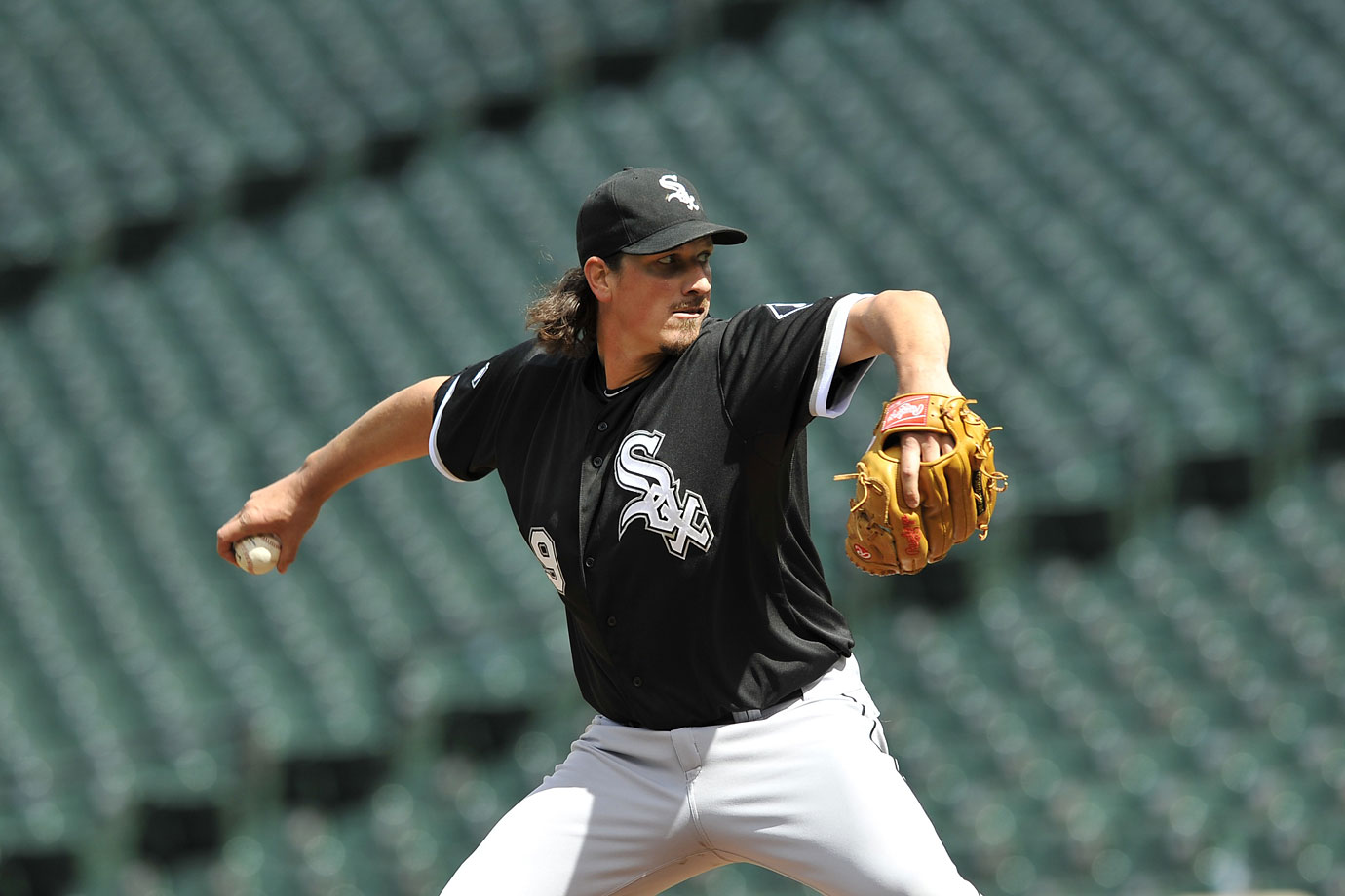 Used in a sentence: Samardzija started a game at an empty Camden Yards on April 29, 2015.