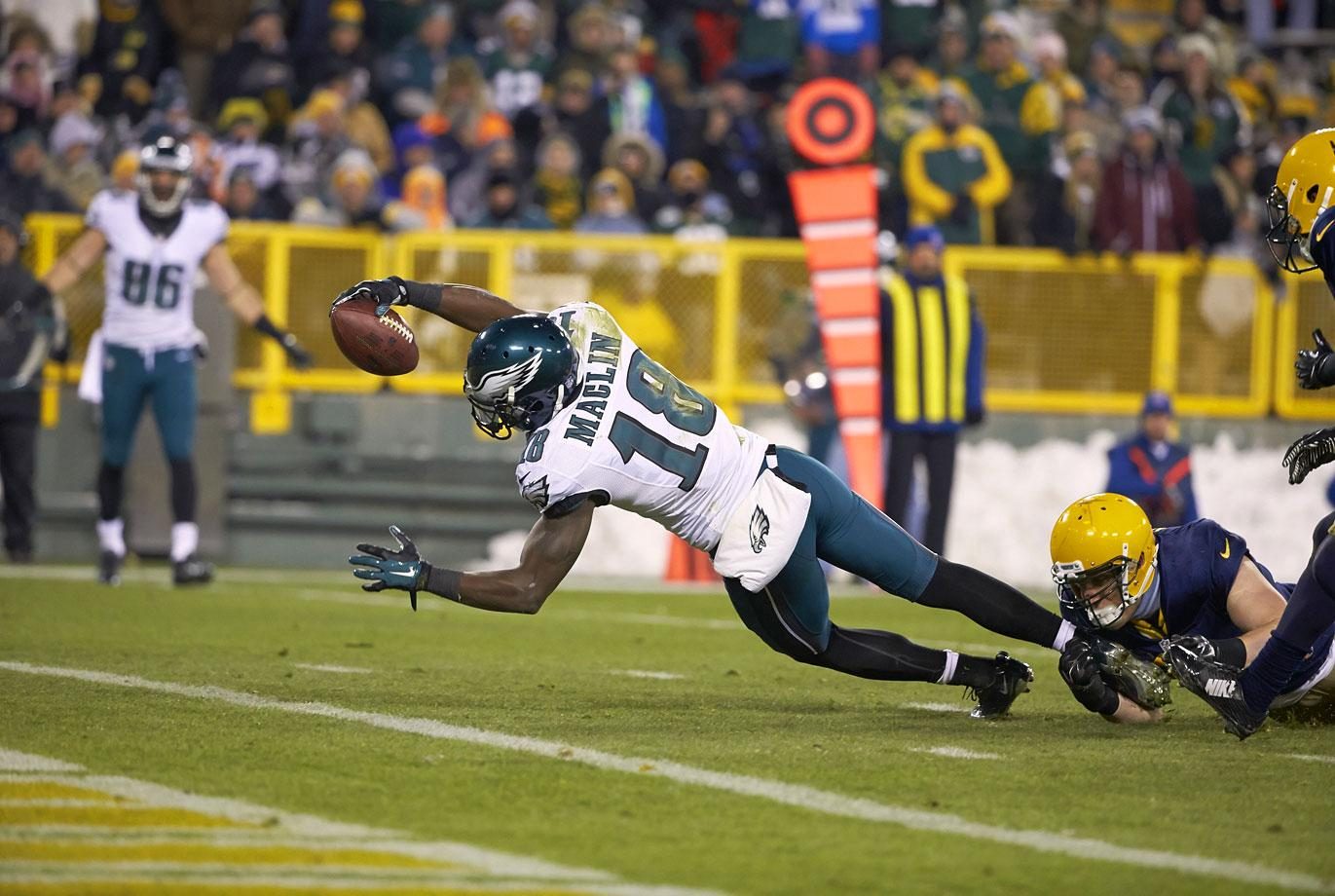 Old team: Eagles; New team: Chiefs
