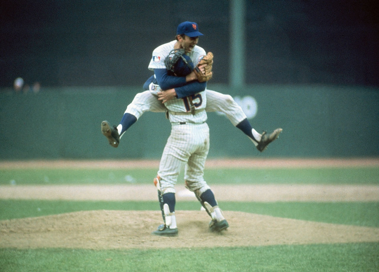 A stalwart in the Mets' rotation for 11 seasons, Koosman was the runner-up for Rookie of the Year in 1968, an All-Star in '68 and '69, a key part of New York's pennant-winning rotations in '69 and '73, and the runner-up for the Cy Young award in 1976. Most significantly, it was Koosman's complete game victory in Game 5 of the 1969 World Series that clinched the Mets' first championship.