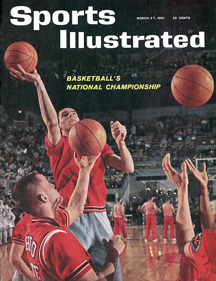 Lucas helped sway Mel Nowell, Bob Knight and John Havlicek to choose Ohio State with his commitment to the Buckeyes. Although he insisted on an academic scholarship to keep his options open, basketball provided all the opportunities Lucas would need as he propelled Ohio State to three championship appearances and one title. Lucas recorded the only 30-30 game in NCAA tournament history when scored 33 points and grabbed 30 rebounds against Kentucky in the Elite Eight in 1961. He was twice named the Most Outstanding Player at the Final Four.