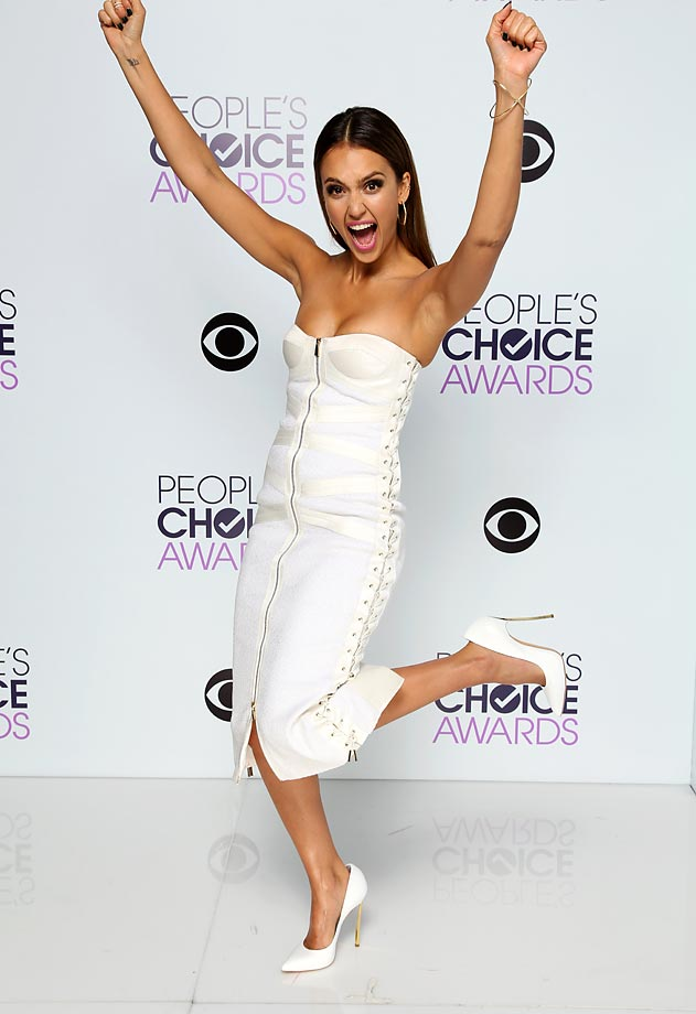 Jessica Alba :: Monty Brinton/CBS via Getty Images