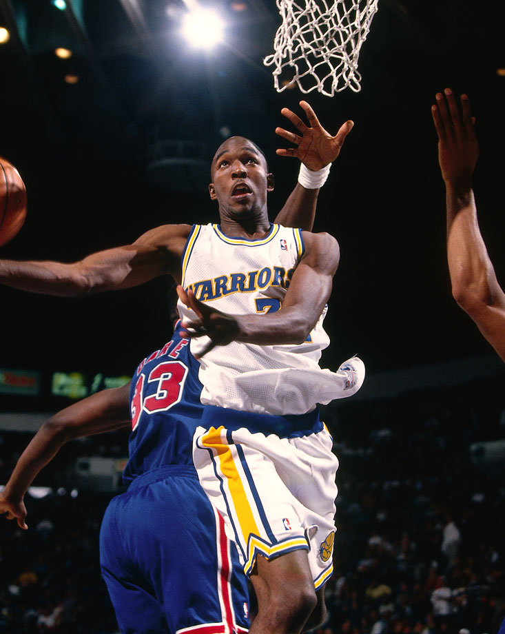 After the Warriors delivered on their 9.4% chance, then-general manager Dave Twardzik said, ''Whoever you take, some people are going to say, 'How could pass on this [other] guy?' '' Twardzik experienced the second-guessing first-hand: The Warriors chose forward Joe Smith while the rest of the top five was Antonio McDyess, Jerry Stackhouse, Rasheed Wallace and Kevin Garnett. Smith went on to play for 12 different NBA teams over 15 years, never once named an All-Star.
