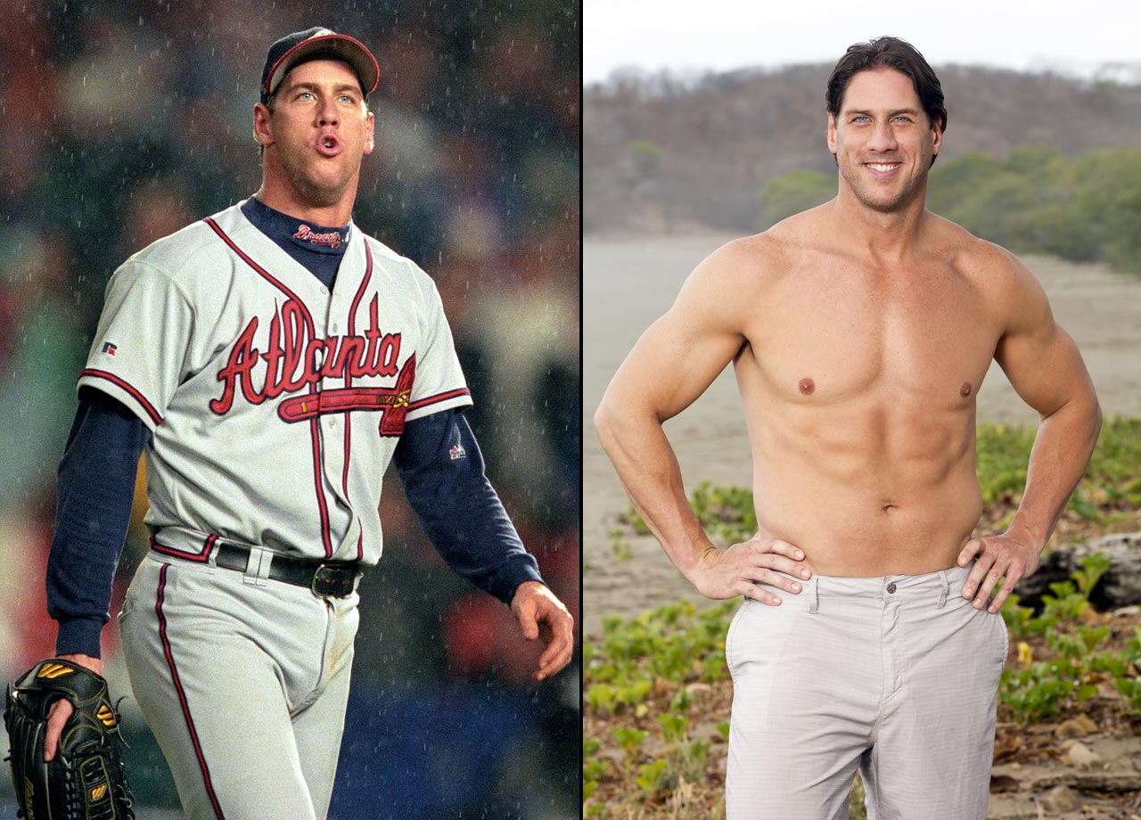 """The retired MLB relief pitcher is competing alongside his girlfriend Julie McGee on """"Survivor: San Juan del Sur."""""""