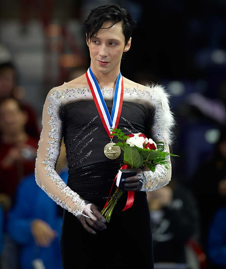 The main Belt asteroid 12413 Johnnyweir was discovered on Sept. 26, 1995 at the Engelhardt Observatory. We doubt that the asteroid is nearly as colorful as the three-time U.S. national champion figure skater.