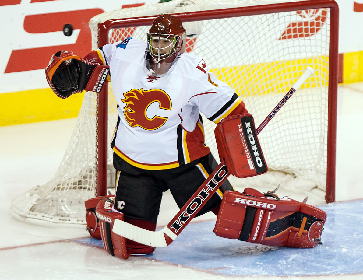 Since the retirement of stalwart keeper Miikka Kiprusoff in 2013, the Flames have been seeking a reliable successor. Hockey ops president Brian Burke believes Hiller, 32, is capable of fitting the bill. The Swiss netminder is coming off a sometimes dazzling, sometimes frustrating seven seasons with Anaheim (where he was originally signed by Burke) that included a battle with vertigo. Will he return to top form while the rebuilding Flames continue to cultivate their solid crop of prospects?