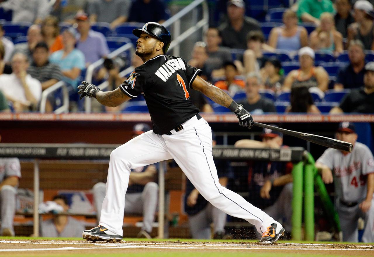2013 (w/New York Mets): 133 AB, 16 R, 4 HR, 16 RBI, 4 SB, .188 BA, .250 OBP --- 2014 (through Aug. 4): 49 AB, 4 R, 2 HR, 6 RBI, 0 SB, .265 BA, .294 OBP