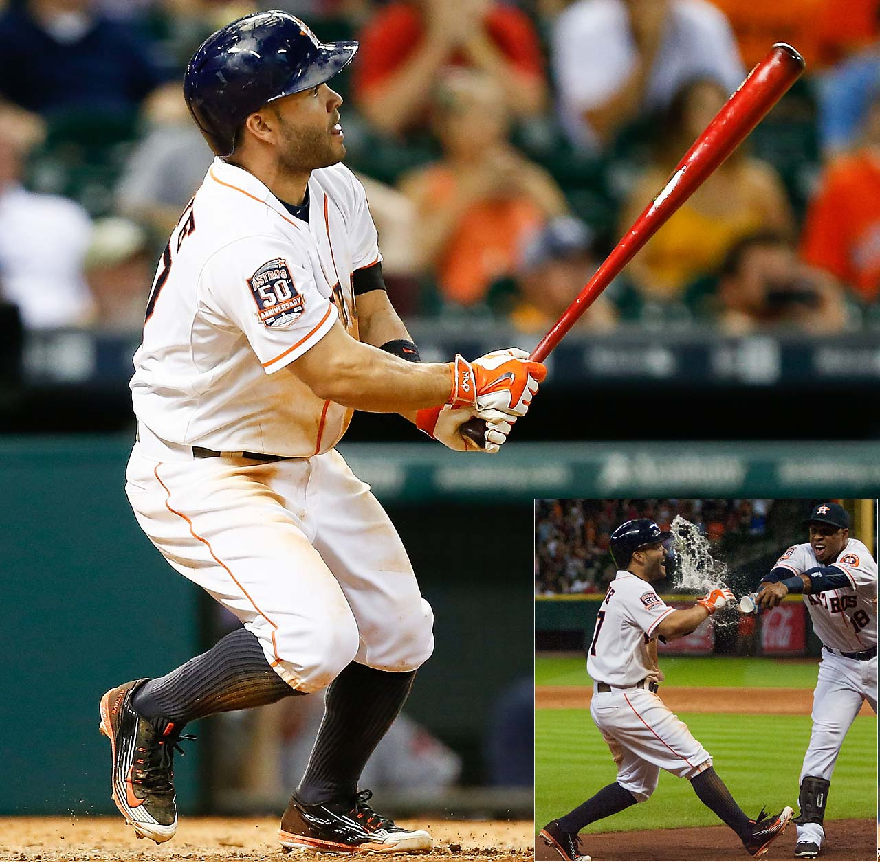 Jose Altuve delivered a solo shot in the ninth inning on July 23 to give the Houston Astros a 5-4 victory over Boston.