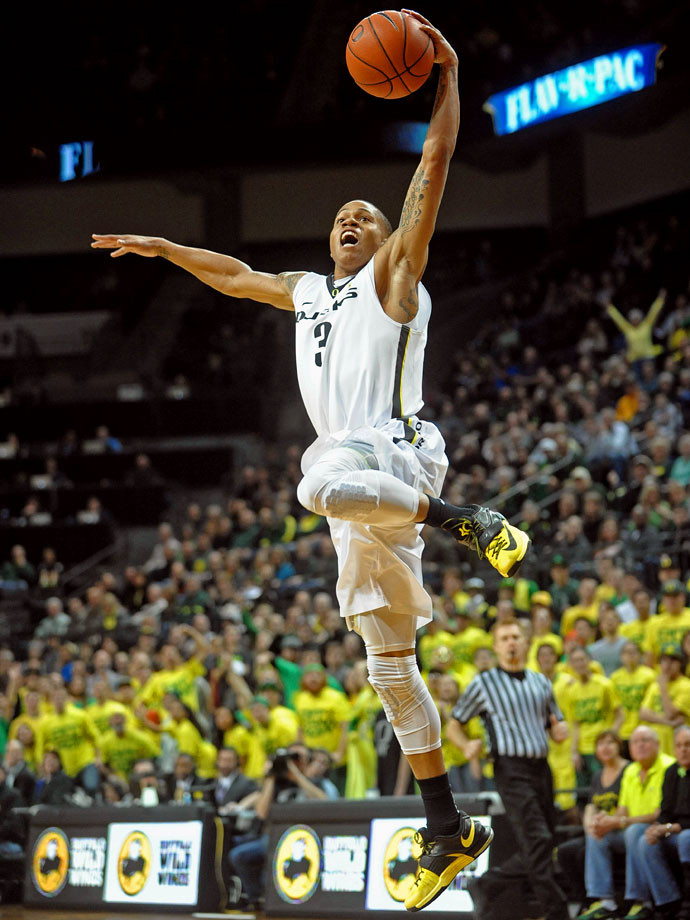 Young isn't talked about much, and Oregon sits right outside the top-25, but Young is the kind of scorer that commands attention. He plays over 36 minutes per game and scores nearly 20 points while doing so. If Young gets hot, he can swing a tournament game all by himself, and the Ducks could sneak up on some opponents.