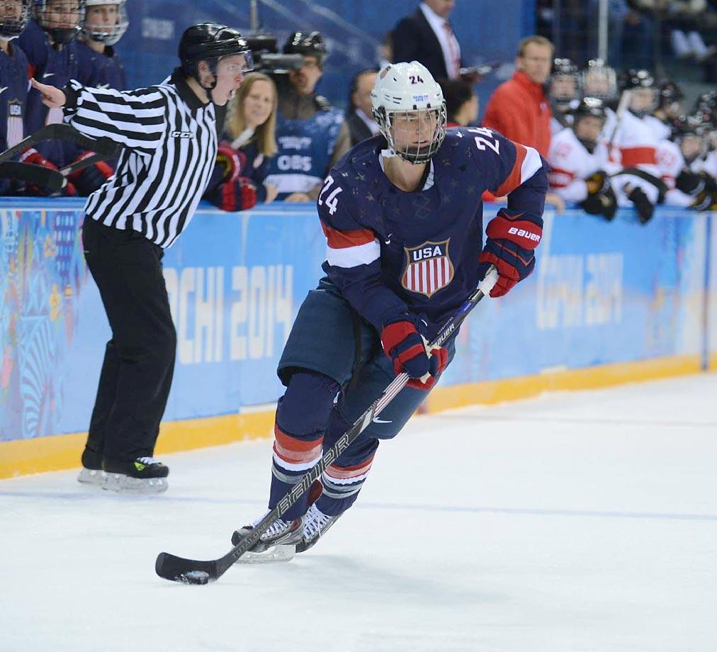"Age: 23 | Height: 5'9"" | Weight: 150 lbs. | Ice Hockey"