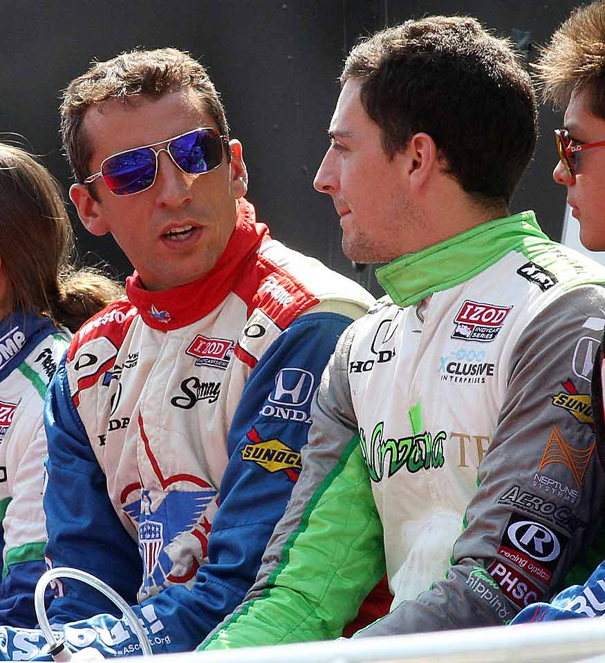 In 2013, Justin and his younger brother Stefan raced together in the Grand Prix of Baltimore, the first siblings since the Bettenhausen brothers, Gary and Tony Jr., in 1983 to compete together in IndyCar.