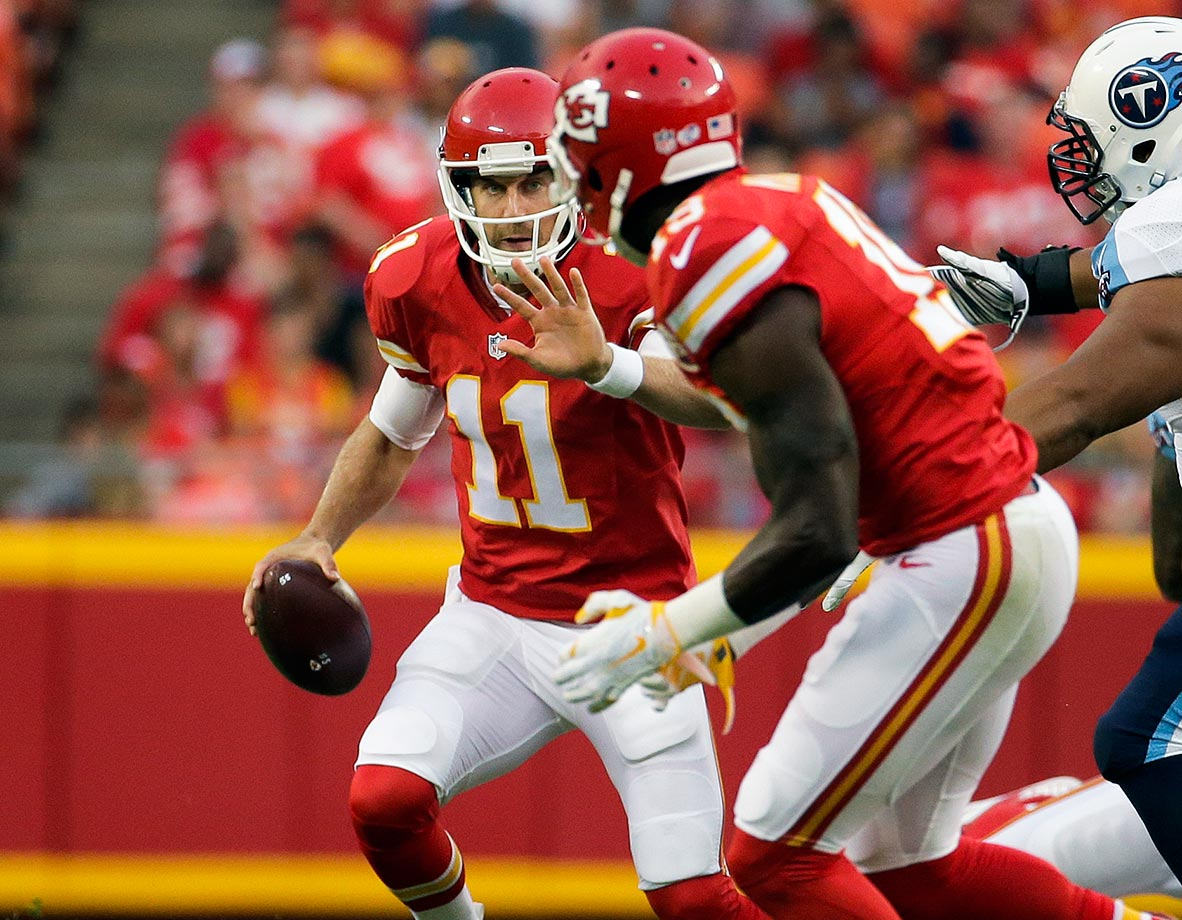 Sure, Jeremy Maclin should solve that pesky problem of the Chiefs not getting any touchdowns from wide receivers last year, but he might have to do it on a lot of long crossing routes, working with Captain Checkdown Alex Smith. The Chiefs' four passes of 35 yards or more last year gives them a better shot at an Arena Bowl win than a Super Bowl win this year.