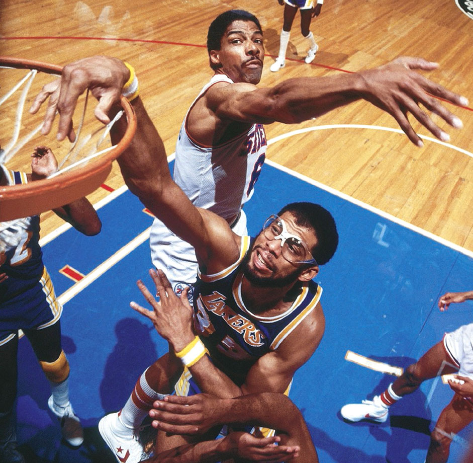 I've never ranked KAJ anywhere near this highly, and now I wonder why. Let me ask you: Was anyone as good of a center as he was for as long? Russell averaged 15 points and 22.5 rebounds for 13 seasons. Chamberlain put up massive numbers, but he was effective for only 12 years. The Begoggled One was a great player for 17 seasons and a very good one for another three. He didn't have Russell's winning pedigree, but he did retire with six titles. And if you want the one reliable shot in NBA history, it's not LeBron going to the hoop, or Jordan posting up with his fallaway or Bird stopping and launching from three—it's KAJ's skyhook.