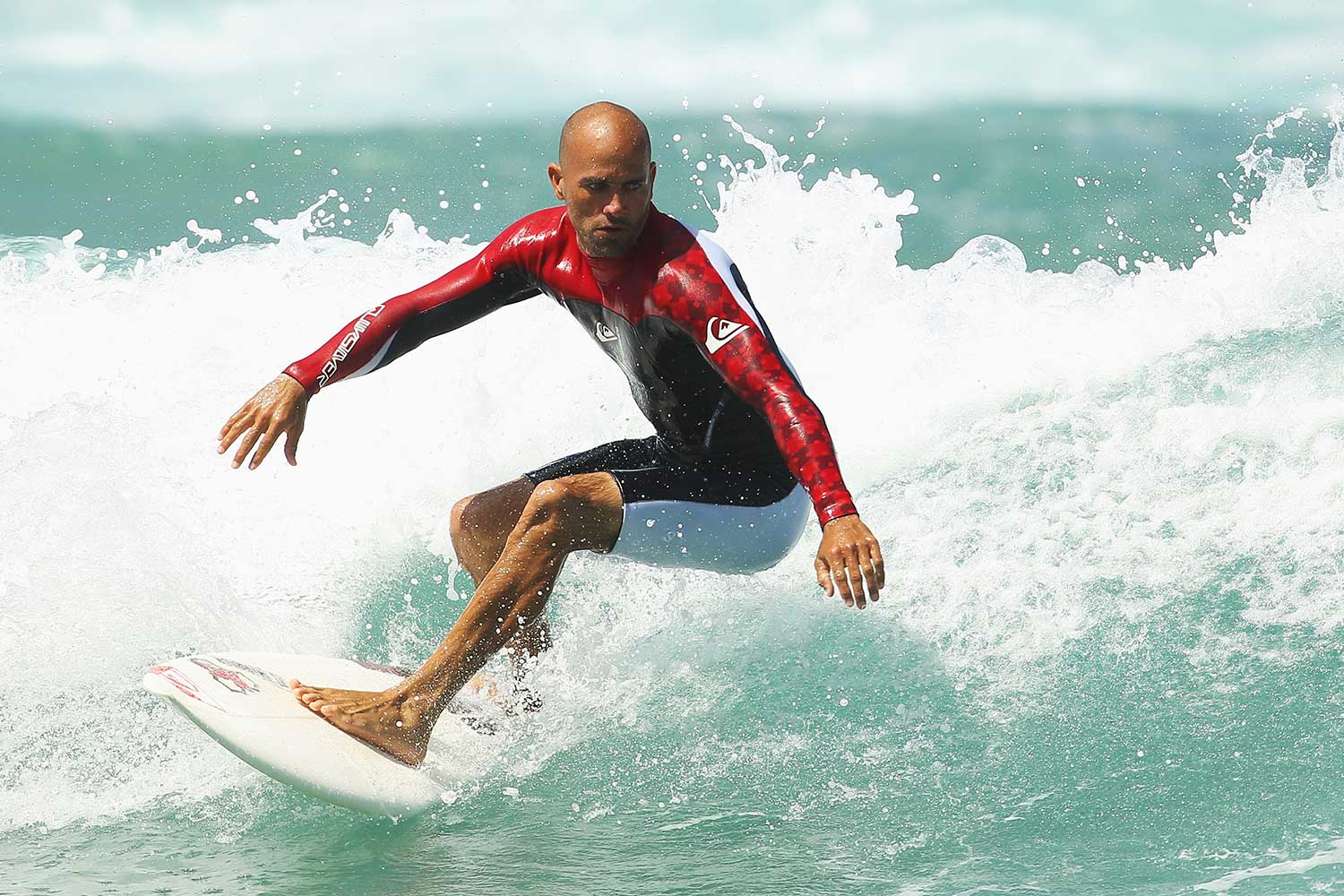 """Welcome to my page where I make fun of things, point out absurdities and tackle serious subjects like the cutback."" Keep up with professional surfer Kelly Slater on Instagram @kellyslater."