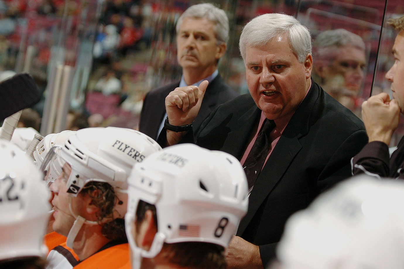 """The Flyers' worst start in 17 years (1-6-1), including the worst loss in franchise history (9-1 to Buffalo), triggered a sudden housecleaning. Hitchcock, their fourth-year coach, was handed his walking papers a little more than a month after he'd signed a contract extension. Longtime GM Bobby Clarke stepped down, citing burnout. """"I no longer wanted to make the decisions general managers have to make,"""" he said. Respective successors John Stevens and Paul Holmgren fared no better. The Flyers were on the golf course at the end of the regular season."""