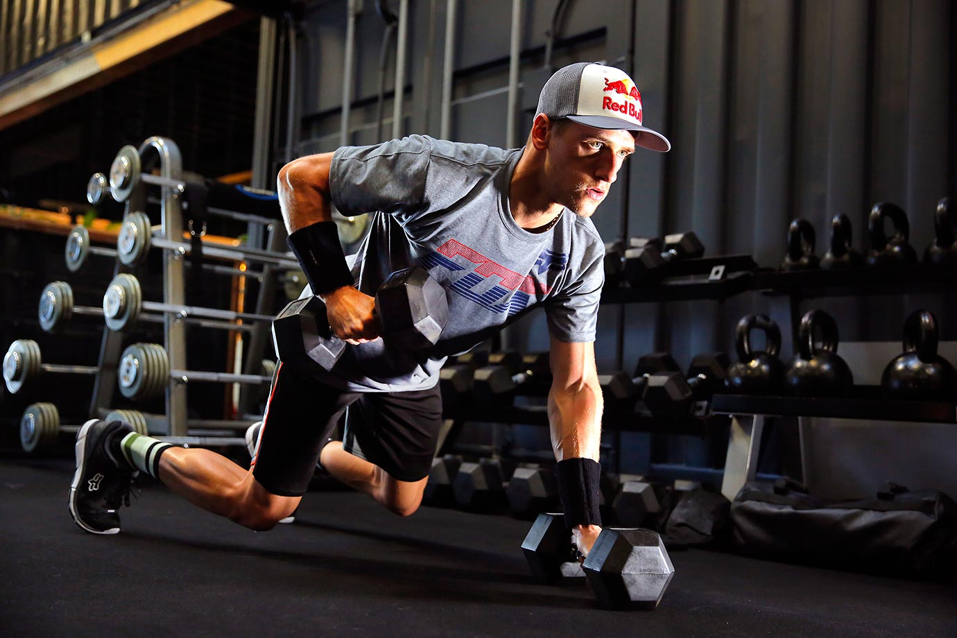 Ken Roczen utilizes a variety of exercises help keep his body in tune.