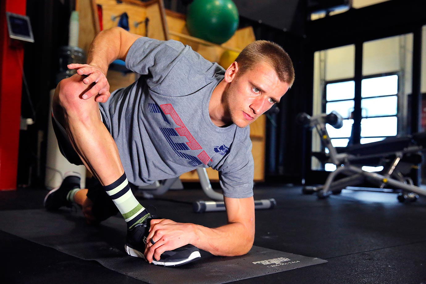 Stretching and flexibility help Ken Roczen perform at the highest level of his physically demanding sport.