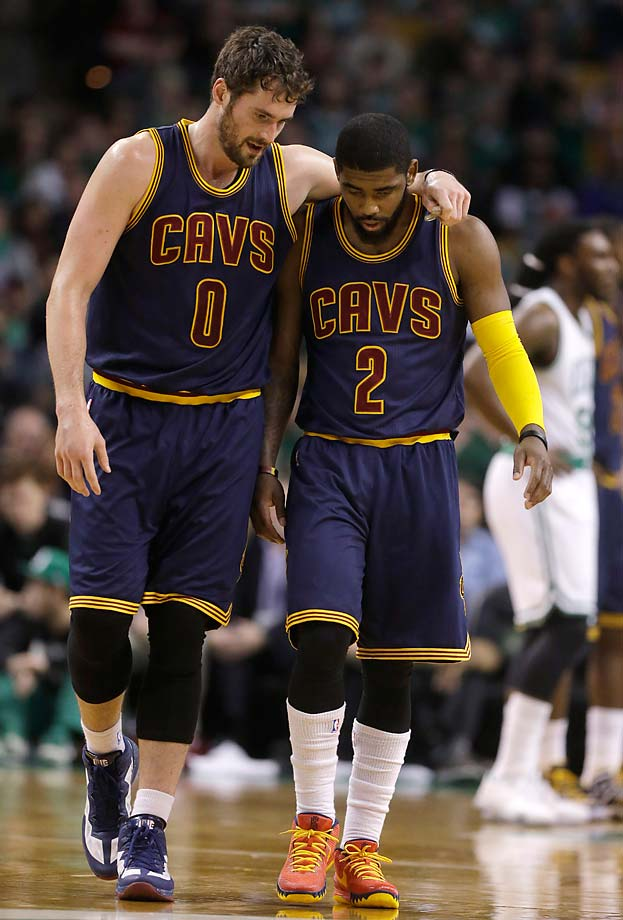 Cleveland made the NBA Finals but was forced to play the majority of the series without Kevin Love and Kyrie Irving, both who were injured.