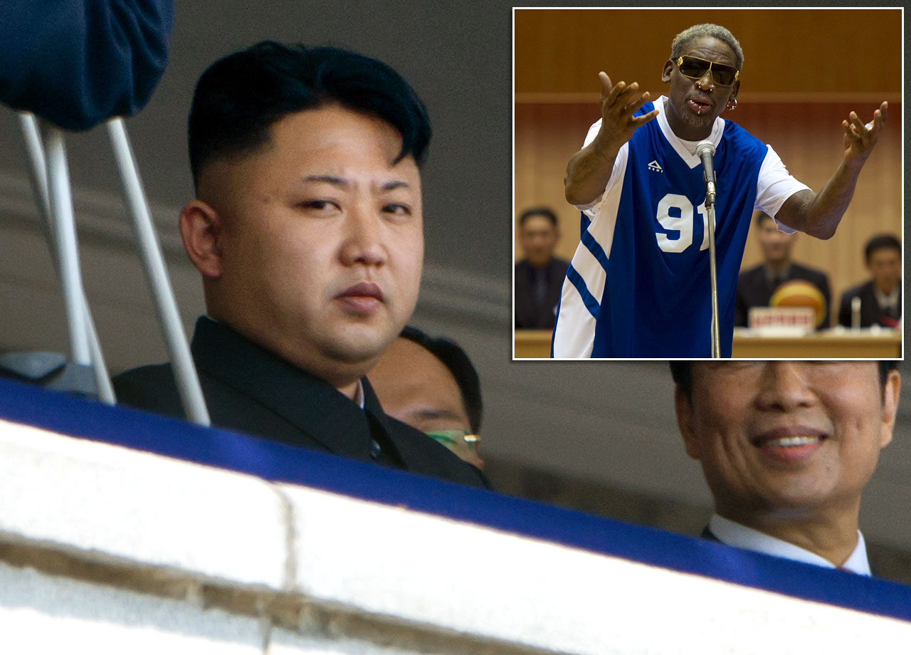 "The brutal, unpredictable North Korean dictator was courted by his pal Dennis Rodman with a hoops exhibition featuring ex-NBA players. So much for basketball diplomacy. Kim went on imprisoning American tourists on trumped up charges, developing long-range missiles, and threatening mayhem against the U.S., South Korea, Japan and even SONY Pictures if it released its movie ""The Interview,"" which features an actor playing him."