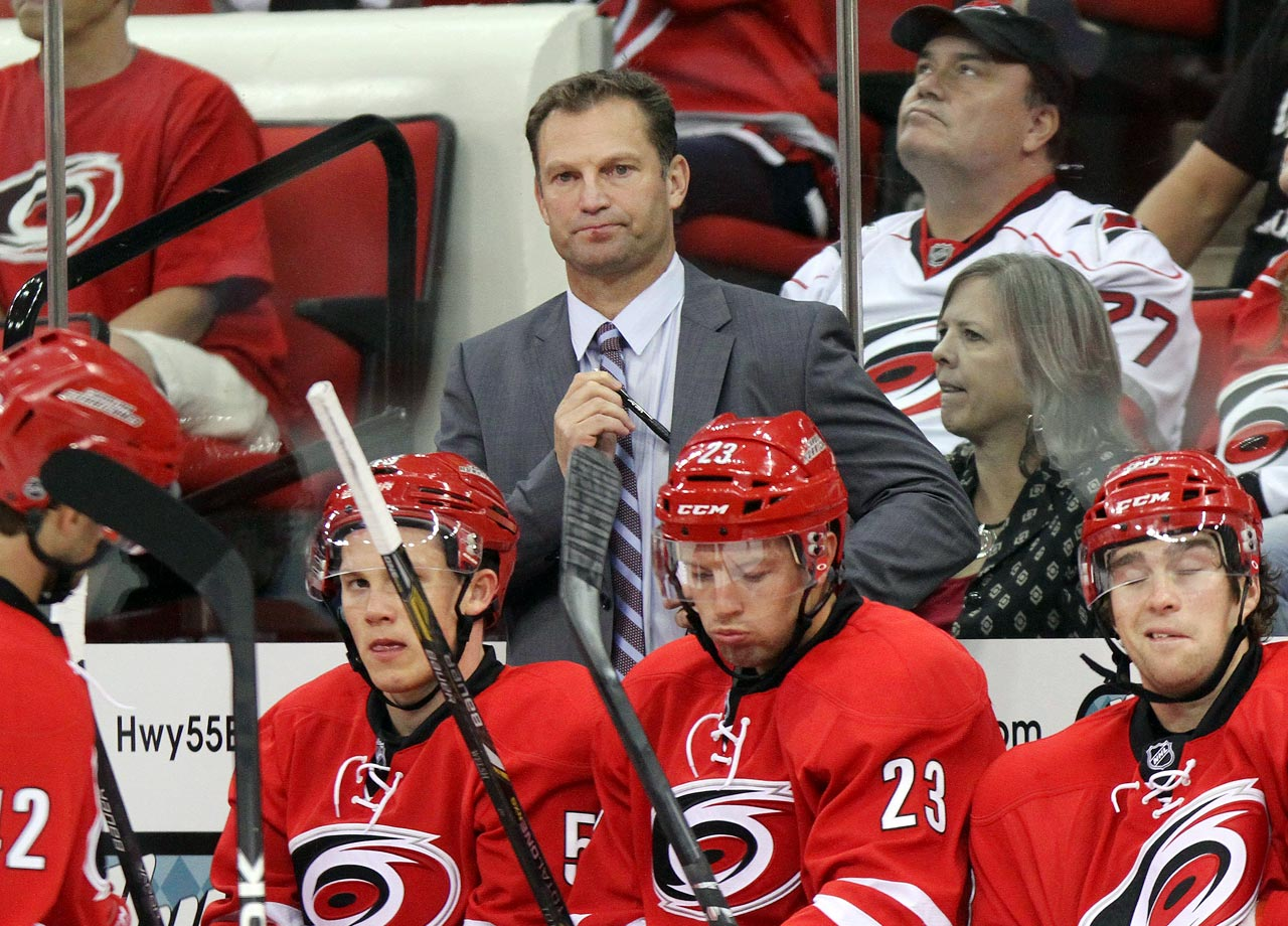 Kirk Muller and most of his staff were fired on May 5, a week after Ron Francis was named the team's new GM.  Muller went 80-80-27 in his three seasons behind the bench for the Hurricanes, failing to make the playoffs in any of those seasons.