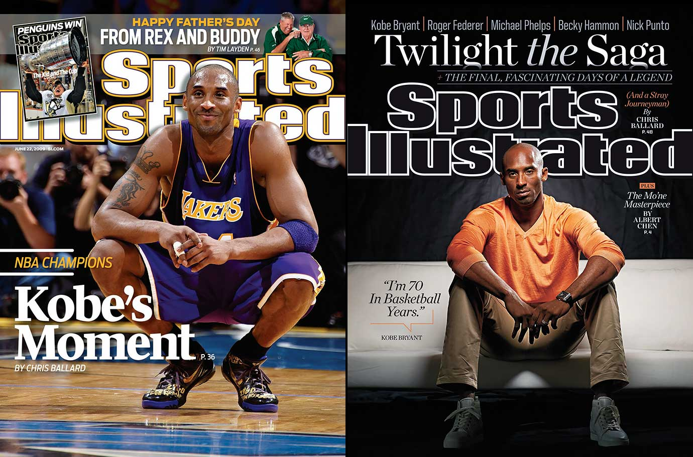 Kobe Bryant retired as one of the greatest NBA players of all time. In his 20-year NBA career, Kobe was named an All-Star 18 times and is currently third all time on the NBA scoring list. He has won five NBA titles, two finals MVPs, one regular season MVP and he is an 11-time All-NBA first team. The leading scorer in Los Angeles Lakers history, Kobe has also led the 2008 and 2012 US Olympic team to gold medals.