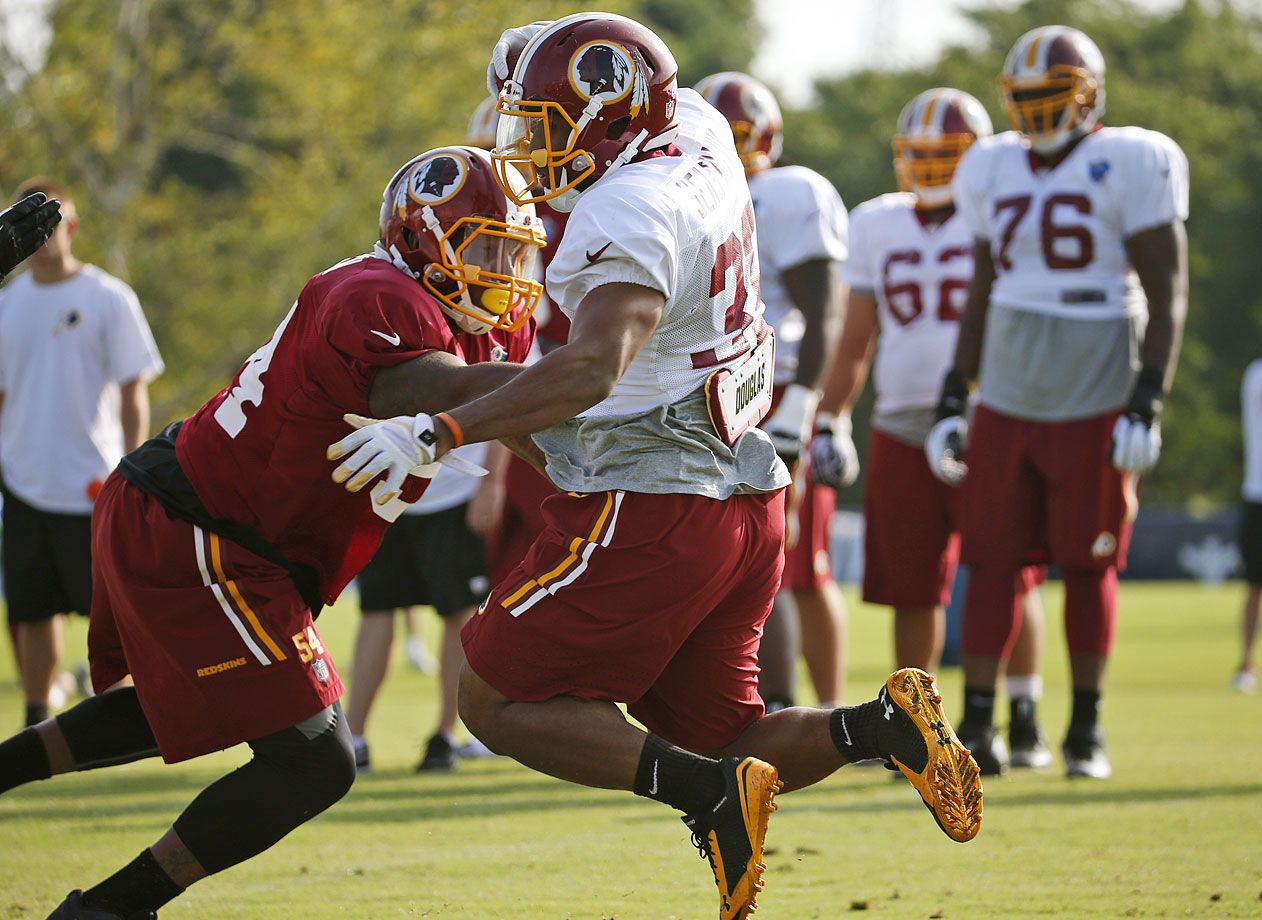 The Baylor product is behind Alfred Morris and Roy Helu on the depth chart and has developed a reputation for having awful hands. He actually dropped 10 balls and only caught nine during his two years in college. That said, Seastrunk's running ability would make him a fantasy asset if Morris goes down with an injury.
