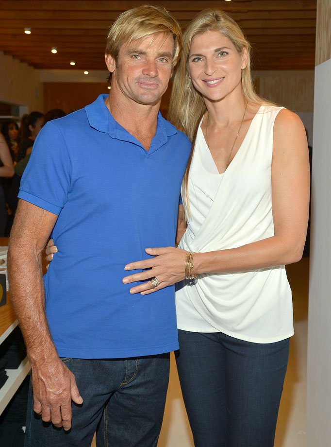 Professional volleyball player Gabrielle Reece and surfer Laird Hamilton have been married since 1997 with two daughters — Reece and Brody.