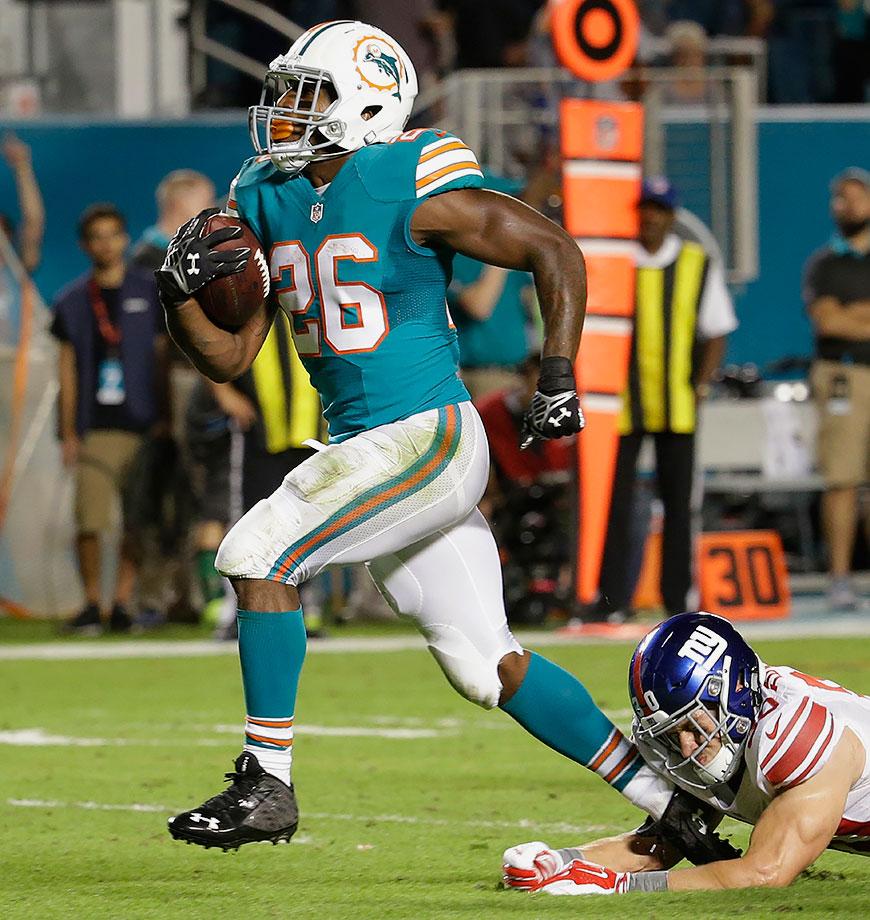 2015 Team: Miami Dolphins — 2016 Team: Houston Texans