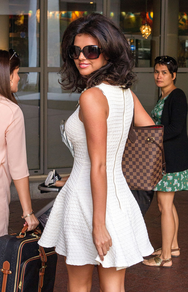 Lucy Mecklenburgh :: Getty Images