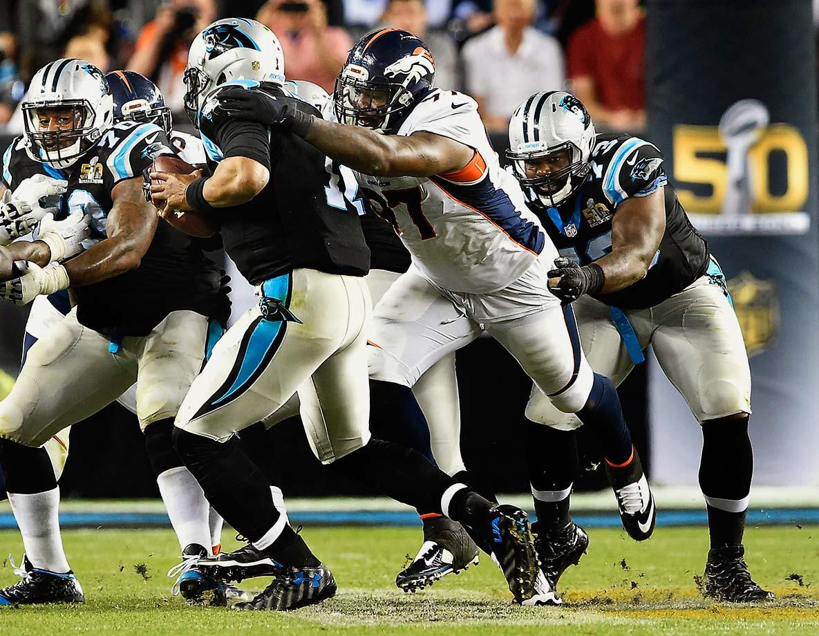 2015 Team: Denver Broncos — 2016 Team: Jacksonville Jaguars
