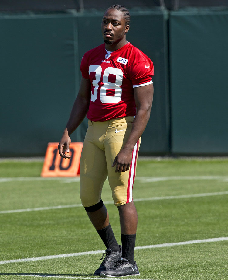 The San Francisco 49ers running back announced his retirement on Nov. 5 due to a knee injury he suffered during college.  Lattimore, 23, tore every ligament in his right knee and dislocated his kneecap during a 2012 game while playing for the University of South Carolina. The 49ers selected him in the fourth round of the 2013 draft and he spent the entire 2013 season on the non-football injury list recovering. He intended to make his debut this season, but his knee injury continued to derail those plans.
