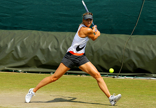 """It's been 10 years since the Russian beat Serena Williams in the final to win her maiden Slam at 17-years-old. """"I don't think about that victory very often,"""" Sharapova said. """"Just sometimes when I need a little pick me up or when I look back at my achievements. When I do think about it, it seems so fresh and it seems like it almost happened yesterday. It's been 10 years and I'm here, yeah, still competing at a high level and still have the motivation."""""""