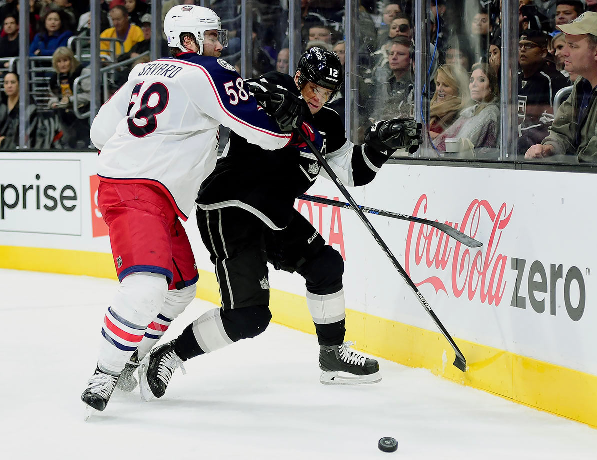 Even with three goals in his last three games, Gaborik's numbers—five goals and seven points in 23 games—are lousy for a player who is being paid to play first line minutes for a contending team ... and they only look worse when you consider that he's actually making $6.075 million this season and next. There's little spark in the play of the 33-year-old and signs of his old speed and creativity are few and far between. It looks like last year's 27-goal performance was an aberration rather than a return to form after two injury-plagued campaigns, making this gamble another painful error by GM Dean Lombardi.