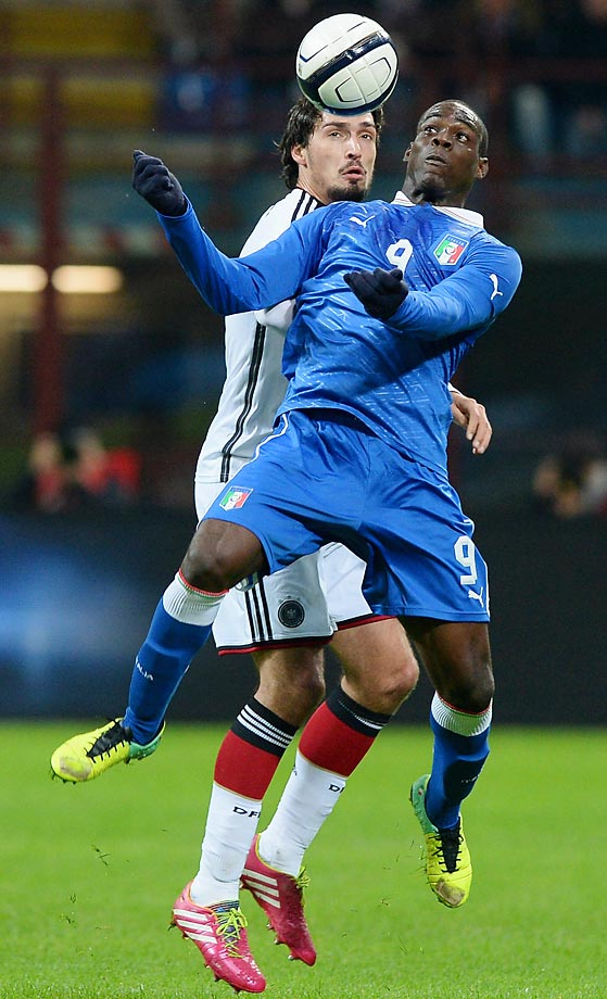 Balotelli has taken heavy criticism for his periodically immature outbursts and a supposed lack of discipline, but a return to Serie A with AC Milan also brought with it an outburst of goals. He scored 18 in all competitions in 2013-14, as well as two in Italy's Confederations Cup effort last summer.