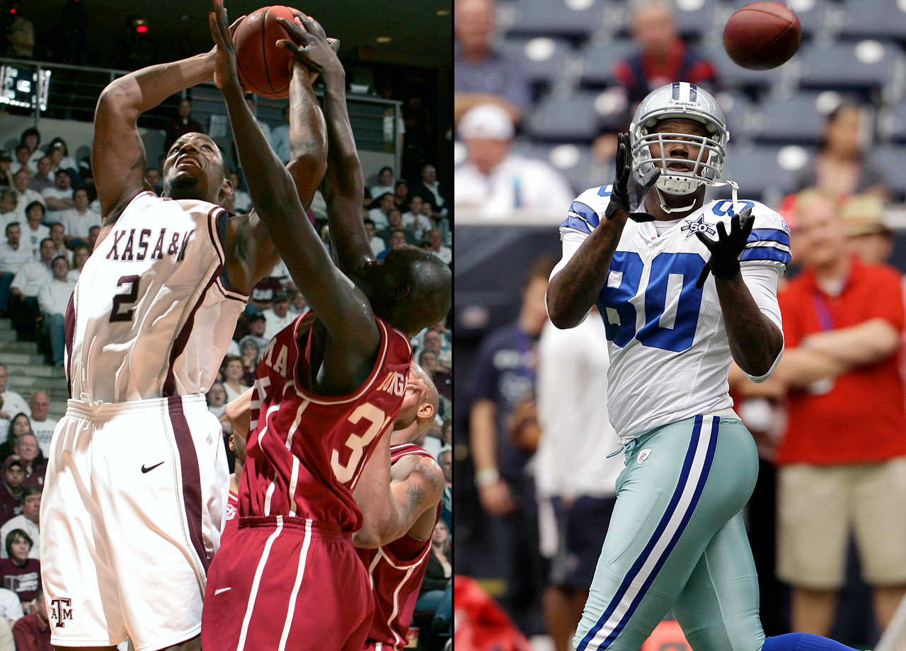 Martellus Bennett played two seasons of hoops at Texas A&M from 2005-07 and only appeared in one tournament game, a 58-57 second-round loss to LSU in 2006. He elected to focus solely on football early in 2007, finishing his junior year with 49 catches for 587 yards and four touchdowns before being drafted by the Cowboys in the second round of the 2008 draft.