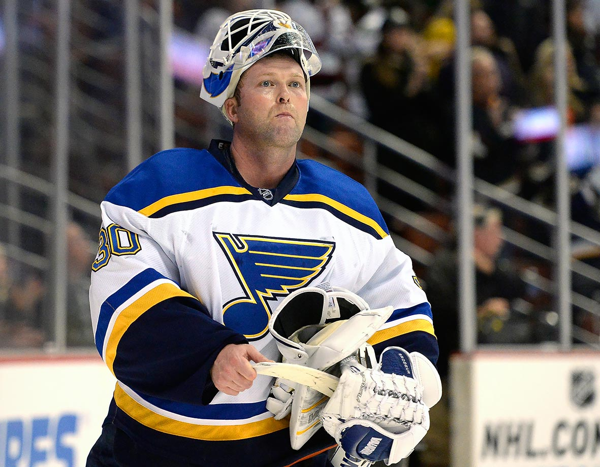 His tenure with the Blues lasted just seven games, but Brodeur made them memorable. On Dec. 29, 2014, the 42-year-old legend blanked Colorado, 4-0, for the 125th shutout and 691st win of his NHL career. Both standards seem nearly unbreakable. So do his final two marks. Dressing for one last time on Jan. 2, he extended his record for games played (1,266) and losses (397). That 4-3 defeat suffered at the hands of the Ducks might not have made for the most romantic exit, but it allowed Brodeur to leave on his own terms, a privilege few athletes enjoy.