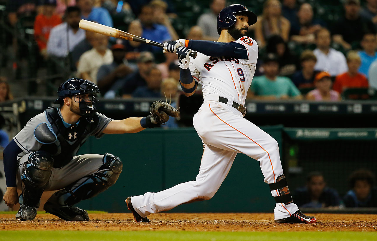 On a night in which he made his first start of the season in left field, Marwin Gonzalez delivered a walk-off home run in the 10th inning on Aug. 18 to give Houston a 3-2 victory over Tampa Bay.
