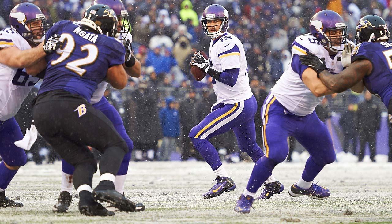 Old team: Vikings; New team: Bills