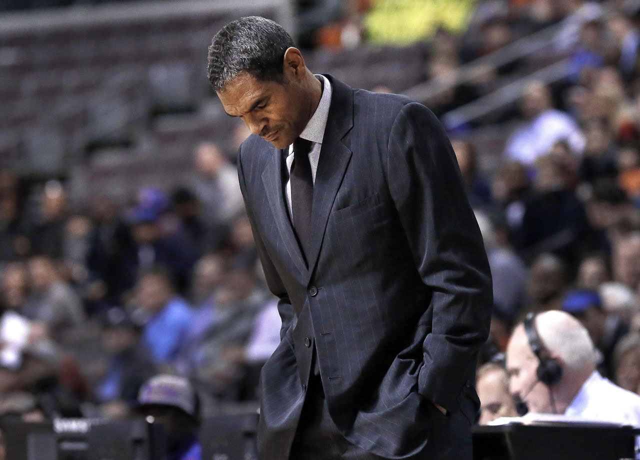 The Pistons fired Maurice Cheeks on Feb. 9, just 50 games into his first season as the team's head coach.  Despite the offseason acquisitions of Josh Smith and Brandon Jennings, the Pistons struggled under Cheeks, amassing a disappointing 21-29 record.