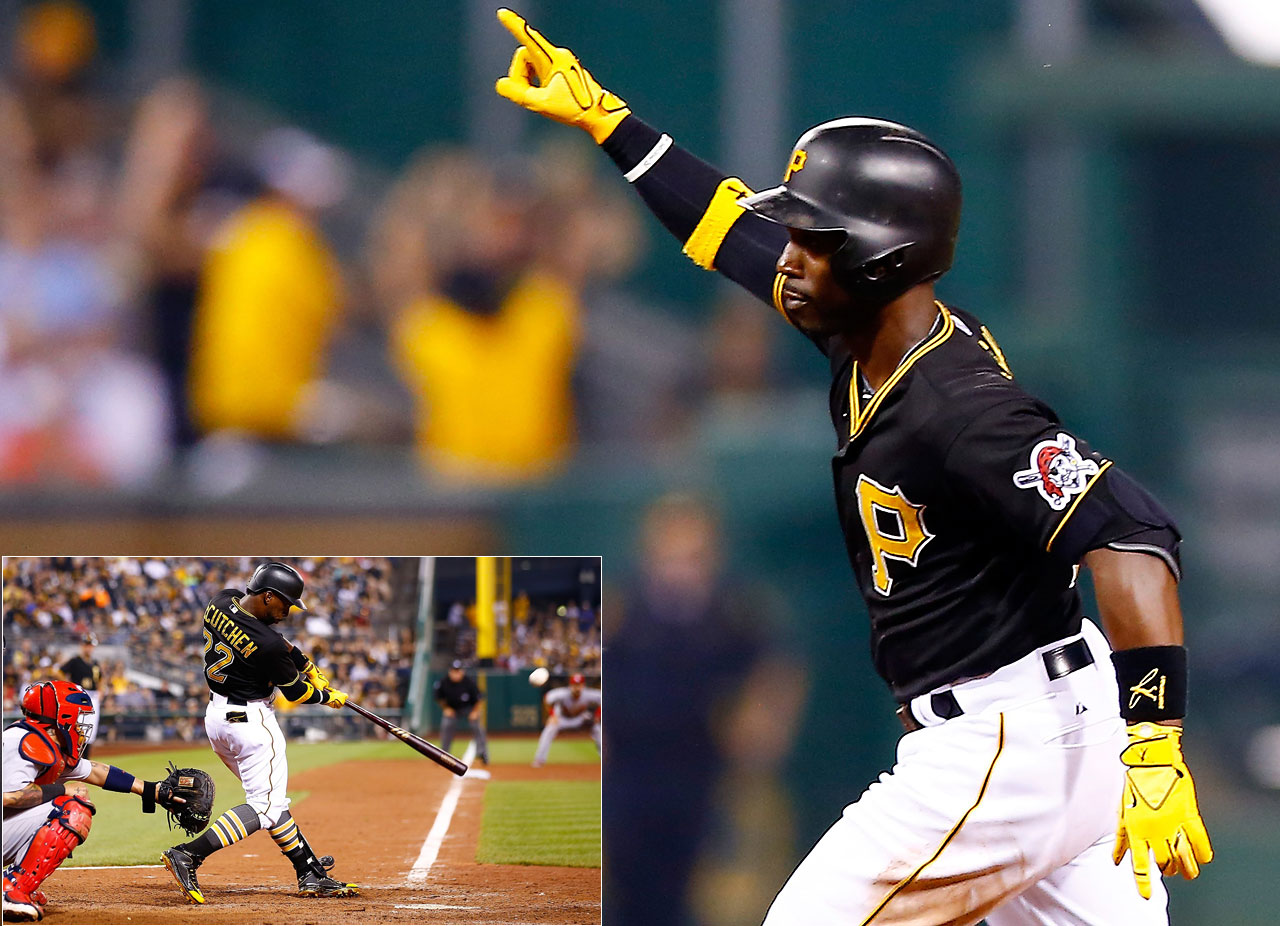 Andrew McCutchen hit a two-run homer in the 14th inning on a July 11 game to give the Pittsburgh Pirates a 6-5 win over the St Louis Cardinals.