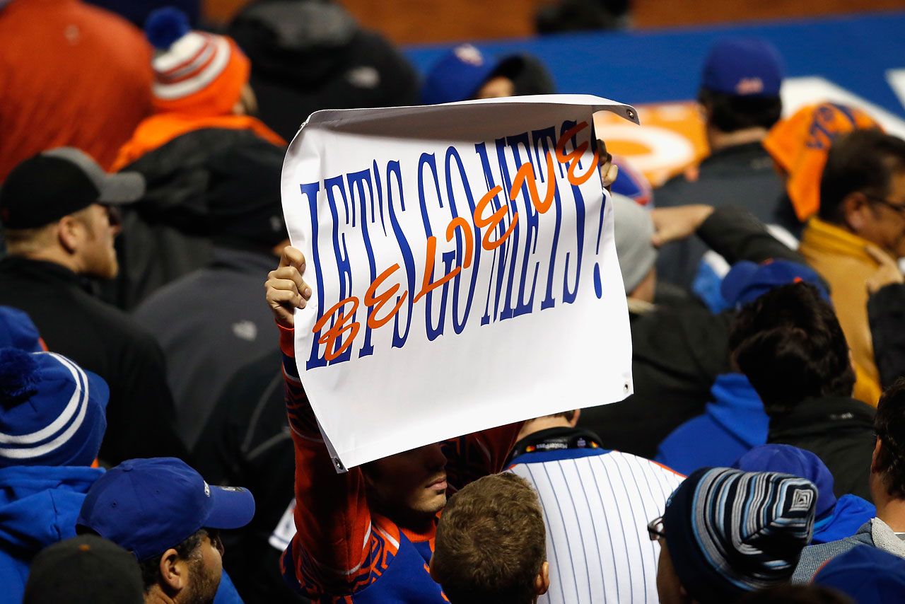 Mets fans kept the faith in Game 3.