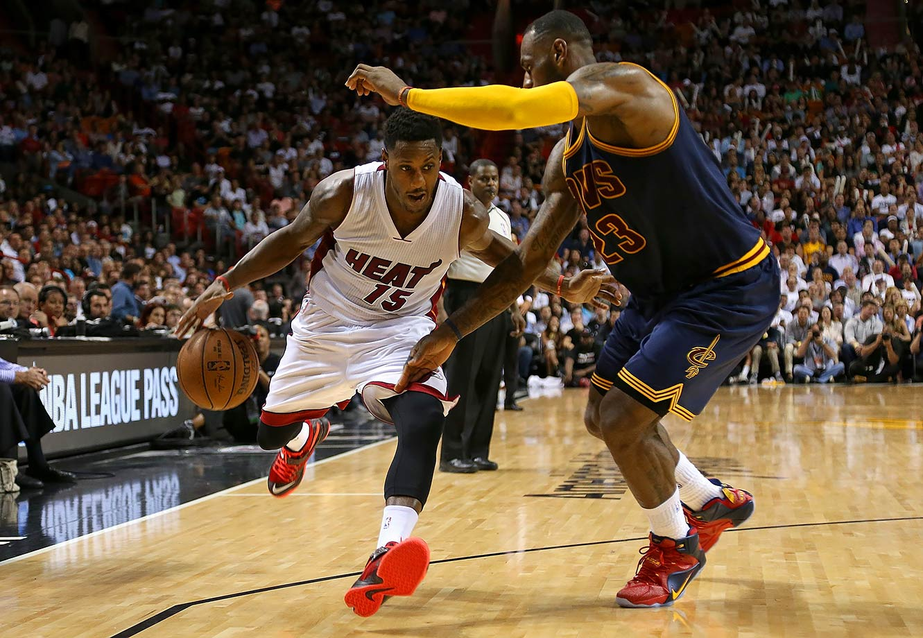 Mario Chalmers still thinks he is better than LeBron.