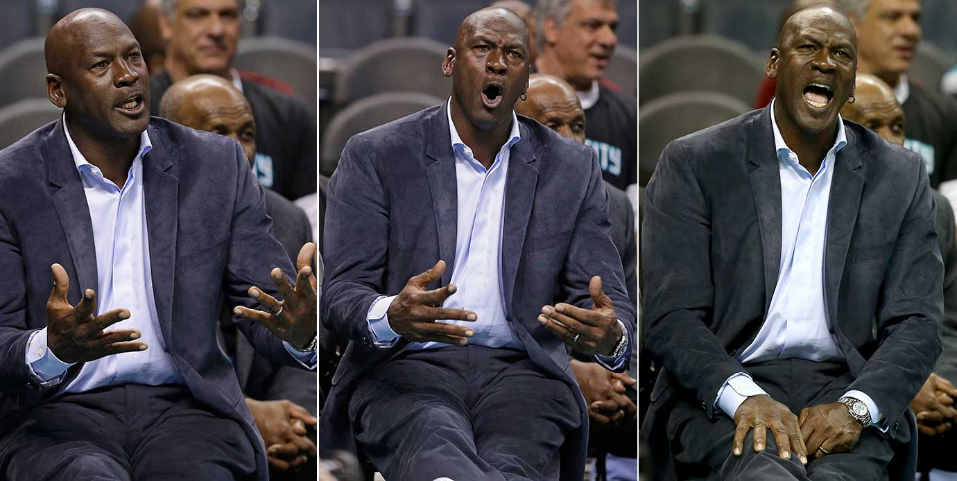 Charlotte Hornets owner Michael Jordan hasn't lost his passion for the game.