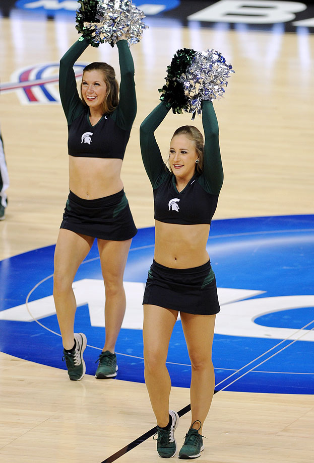 Sorry, can Michigan state spartans cheerleaders