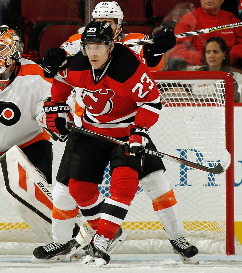 The offensively challenged Devils added some badly needed firepower by signing the 11-year veteran to a five-year, $25 million deal. A reliable 20-goal man (he's hit that mark in six of his NHL seasons), he'll play a key role in making New Jersey a more formidable club that most people expect. He got off to a roaring start by scoring twice in the Devils' 6-4 opening night win over the Flyers.