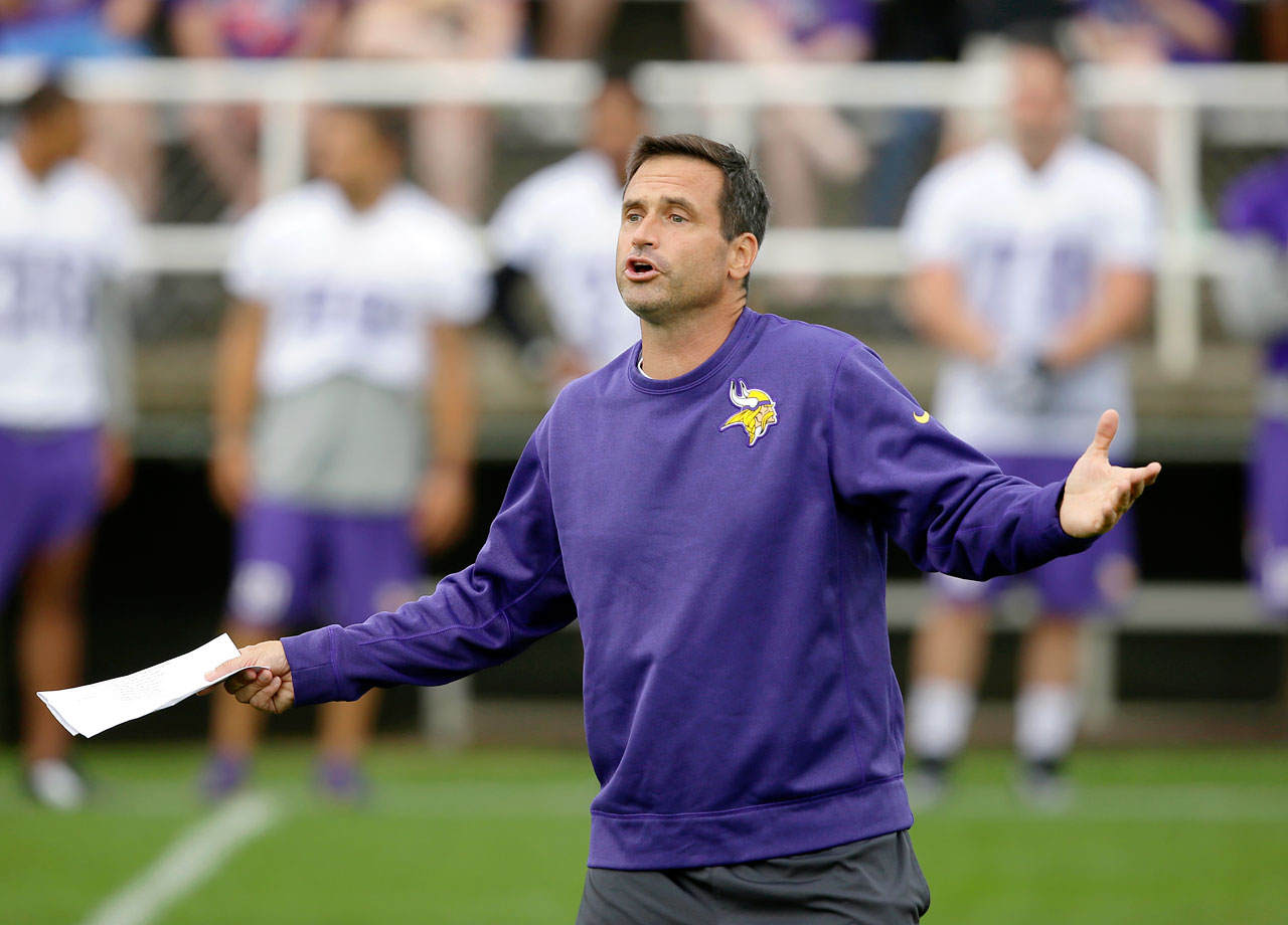 "The Vikings suspended their special teams coordinator for three games without pay after an outside investigation gave credence to claims by former punter Chris Kluwe and long-snapper Cullen Loeffler that Priefer had made ugly, homophobic remarks, including ""putting all the gays on an island and nuking it."" Priefer, who was ordered to take workplace diversity training, later apologized."