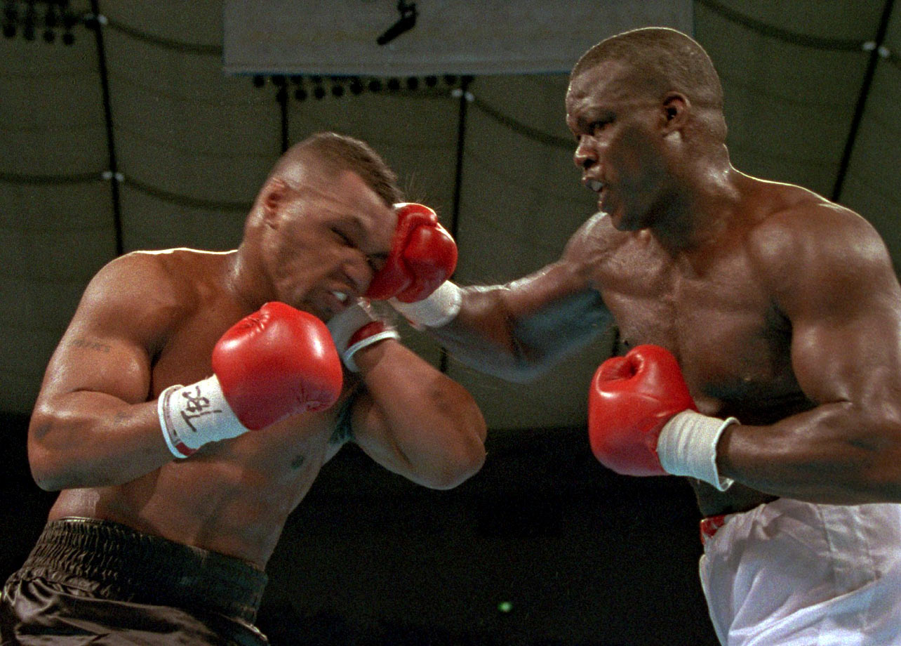 The 29-year-old Douglas, just 29-4-1, produced a career effort when it counted most. Still shaken by the death of his mother, Lula Pearl, just 23 days earlier, he showed no fear of Tyson, and by the middle rounds it was clear the champion was taking punishment.