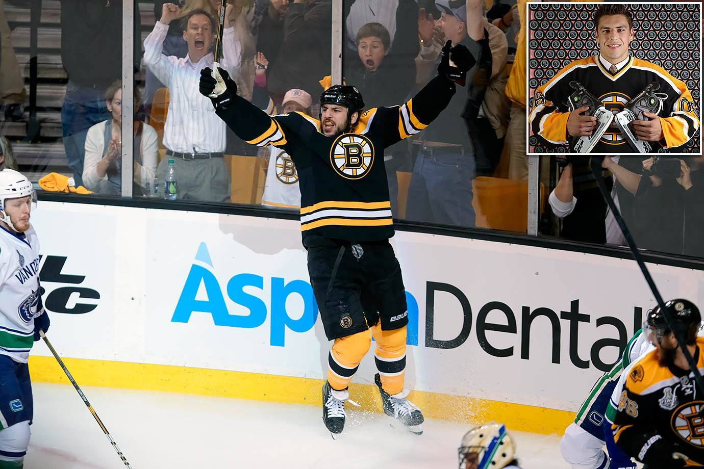 If anyone was born to play for Boston, it was Lucic. Drafted after the Bruins sent Sergei Samsonov to Edmonton for Marty Reasoner, Yan Stastny and a second rounder (No. 50) on March 9, 2006, he was an awkward skater and there were questions about his offensive potential. But Lucic had the heart of a lion and desire to make an impact every time he stepped on the ice. That drive made him an enduring fan favorite.