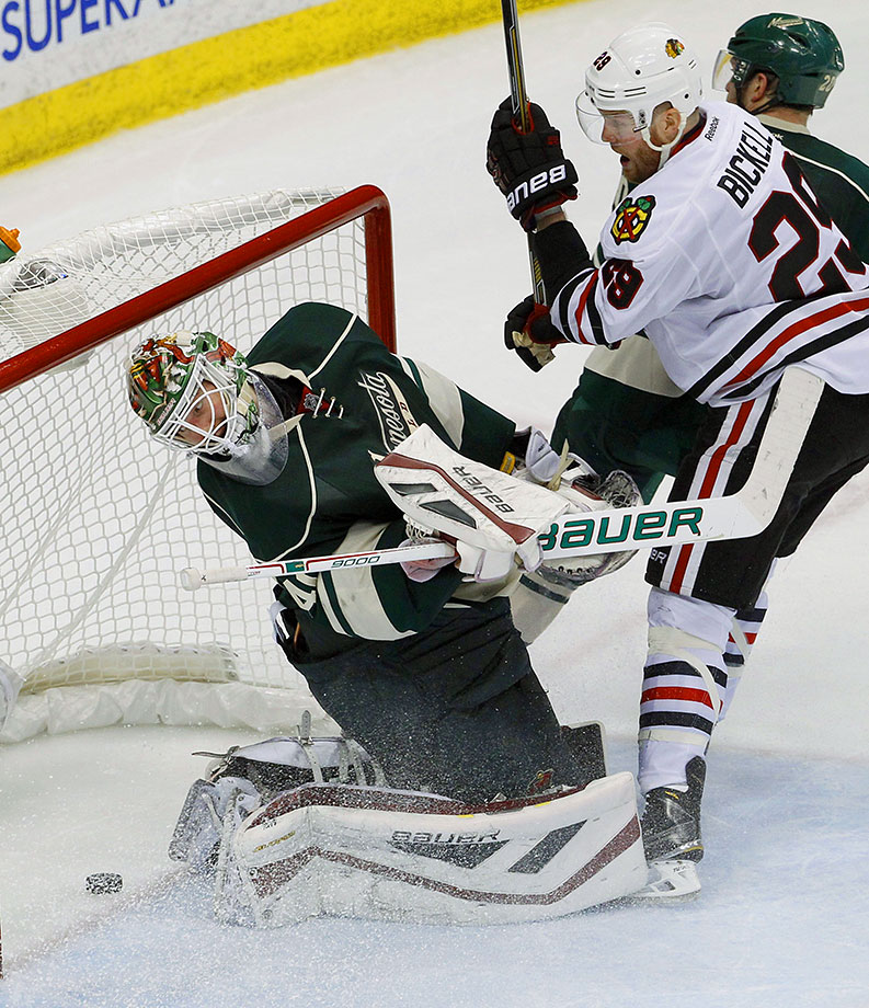 Two numbers to consider: .936 and .914. The first is the remarkable save percentage Devan Dubnyk posted after joining the Wild midway through last season. The second is Dubnyk's very pedestrian career save percentage. If Minnesota's most important player comes within five points of that average, the Wild can kiss their playoff hopes goodbye.