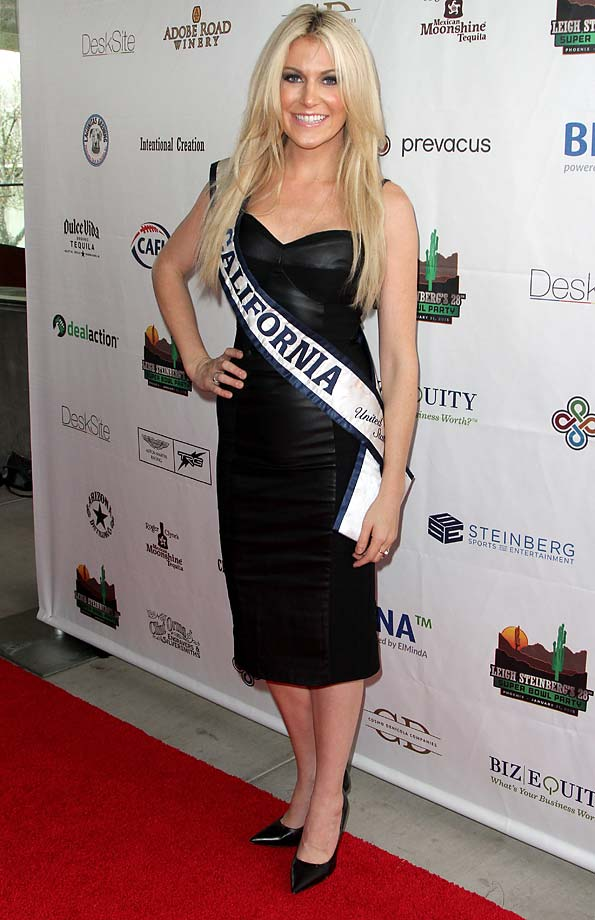 Miss California Sande Charles