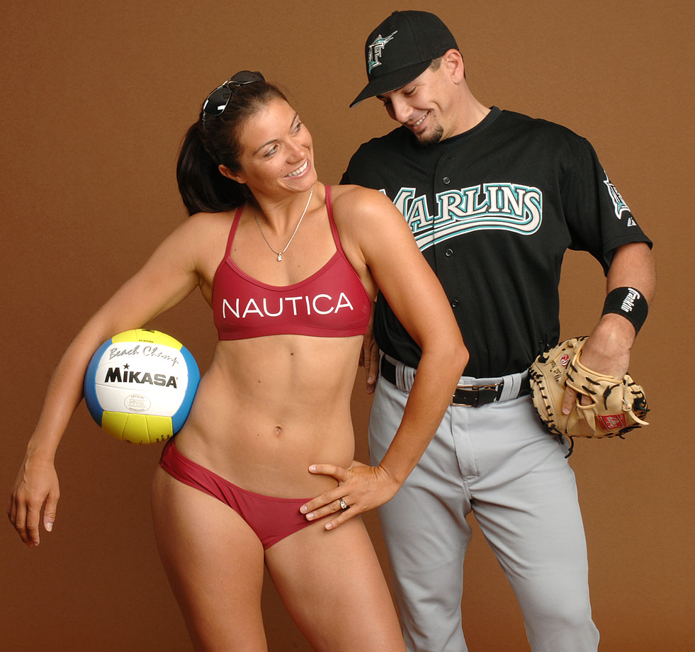 Former catcher Matt Treanor and retired professional volleyball player Misty May have been married since 2004. In June 2014, their daughter Malia was born.